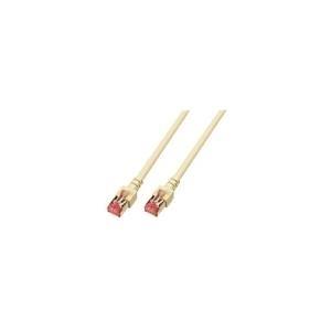 EFB-Elektronik ECOLAN - Patch-Kabel RJ-45 (M) 30,0m Paare in Metallfolie (PiMf) (Kategorie 6) beige (K5510.30)