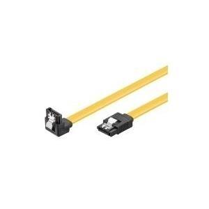 Wentronic goobay - SATA-Kabel - SATA bis SATA - 20cm - 90° Stecker, eingerastet (93946)