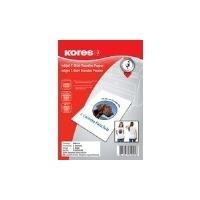 Kores T-shirt transfer paper - A4 (210 x 297 mm) 5 Blatt Transferpapier zum Aufbügeln (FX810.05)