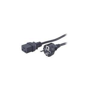 Eaton Powerware - Stromkabel CEE 7/7 (SCHUKO) (M) IEC 320 EN 60320 C19 (W) (152507429-007)