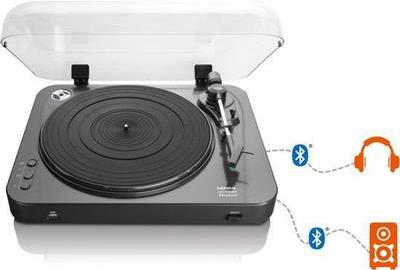 Plattenspieler, Turntables - Lenco LBT 120BK Plattenspieler Audio Plattenspieler mit Riemenantrieb Schwarz (LBT 120)  - Onlineshop JACOB Elektronik