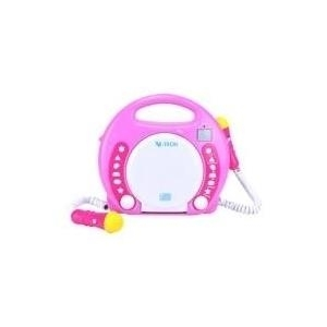 CD, MP3 Player - X peer.de X4 TECH Bobby Joey CD SD USB Karaoke Player pink (701354)  - Onlineshop JACOB Elektronik