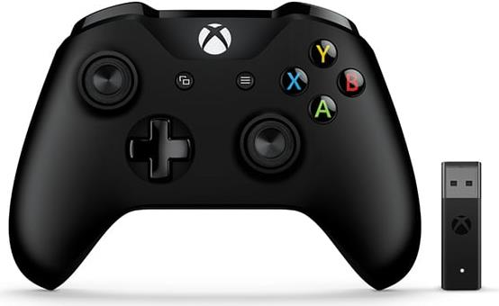Gamingzubehör - Microsoft Xbox Controller Wireless Adapter for Windows 10 Game Pad drahtlos Bluetooth für PC, Microsoft Xbox One, Microsoft Xbox One S, Microsoft Xbox One X (4N7 00002)  - Onlineshop JACOB Elektronik