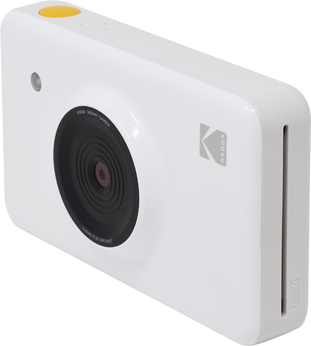 Sofortbildkameras - Kodak MiniShot Digitalkamera Kompaktkamera mit PhotoPrinter 10.0 MPix Wi Fi weiß  - Onlineshop JACOB Elektronik