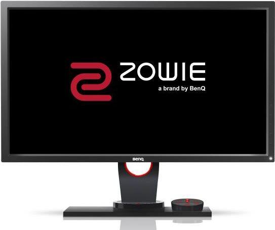 Computermonitore - BenQ Zowie XL Series XL2430 3D LED Monitor 61cm (24) 1920 x 1080 TN 350 cd m² 1000 1 1 ms 2xHDMI, DVI D, VGA, DisplayPort Schwarz, Rot (9H.LF1LB.QBE)  - Onlineshop JACOB Elektronik