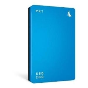 Angelbird SSD2GO PKT, 512 GB ext. SSD, USB-C/USB 3.1, blau - broschei