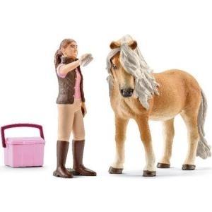 Schleich Horse Club Pferdepflegerin mit Island ...