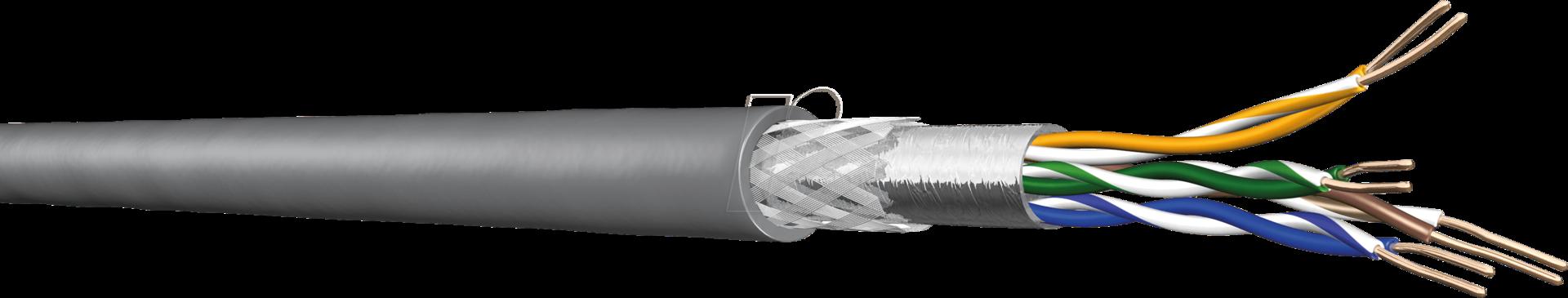 4X2 AWG24-50D - Cat.5e Verlegekabel SF/UTP 50m Ring - Verlegekabel - Netzwerk (60024745)