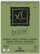 CANSON Skizzen- und Studienblock XL Zeichnen, DIN A5 30 Blatt, 160 g/qm, 148 x 210 mm, Block mit Kopfspirale, - 1 Stück (C400082841)