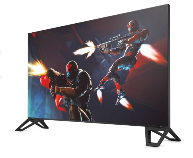HP Inc OMEN X by HP Emperium 65 Big Format Gaming Display - LED-Monitor - 163.8 cm (64.5) - feststehend - 3840 x 2160 4K UHD (2160p) - MVA - 1000 cd/m² - 4000:1 - 4 ms - 3xHDMI, DisplayPort - Soundbar - nachtschwarz (4JF30AA#ABB)