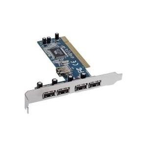 InLine - USB-Adapter - PCI - USB2.0 - 5 Anschlüsse (66673V)