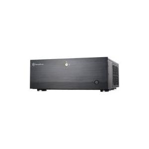 Computergehäuse - SilverStone Grandia GD07 Desktop SSI EEB ohne Netzteil Schwarz USB Audio (SST GD07B USB 3.0)  - Onlineshop JACOB Elektronik