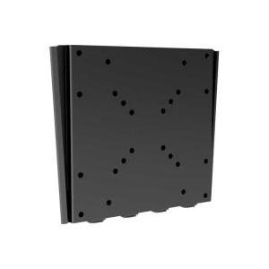InLine - Befestigungskit (Wandbefestigung) für LCD-/Plasmafernseher - Schwarz - Bildschirmgröße: 43 - 94cm (17 - 94,00cm (37)) - Montageschnittstelle: 50 x 50, 75 x 75 mm, 100 x 100 mm, 200 x 100 mm, 200 x 200 mm (23116A)