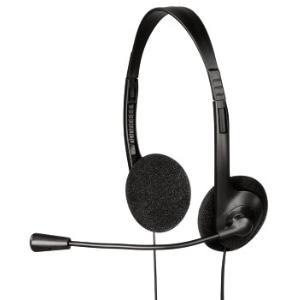 Hama PC Headset HS-101 - Headset - On-Ear - Schwarz (53999)