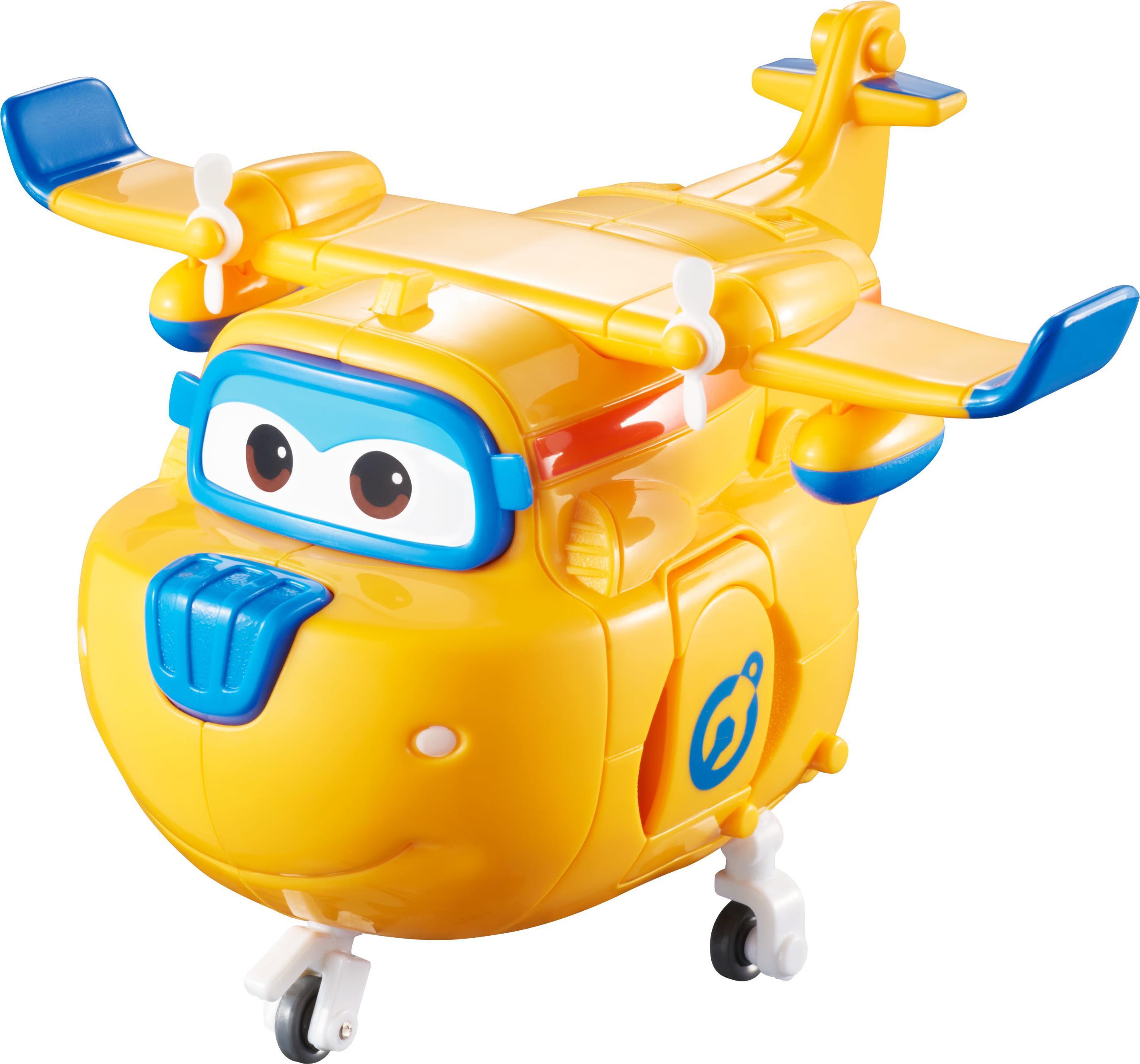 Alpha Animation & Toys Super Wings Transforming Donnie - Blau - Orange - 4 Jahr(e) - 9 Jahr(e) - Junge/Mädchen - Innenra