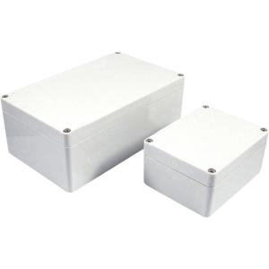 Axxatronic Installations-Gehäuse 200 x 120 75 Polycarbonat Grau 7200-269 1St. jetztbilligerkaufen