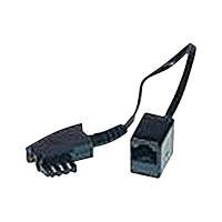 Herweck Helos - Telefonadapter - TAE-F (M) - RJ-45 (4-PIN) (W) - 20 cm (014149)