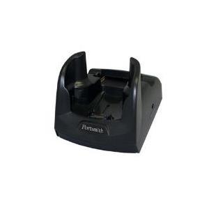 Portsmith Single Slot Ethernet Cradle - Docking Cradle (Anschlußstand) - Ethernet - EU - für Motorola MC70, MC75, MC75A (PSCKE75UE)
