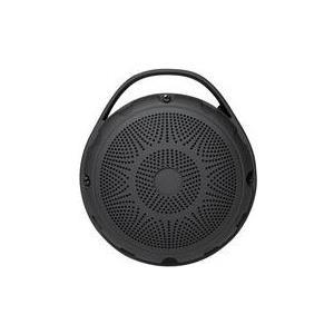 Logilink Wireless with FM radio and MP3 player - Lautsprecher - tragbar - drahtlos - 1 Watt - Schwarz (SP0050)