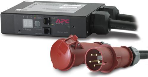 Schneider Electric APC In-Line Current Meter AP7175B - Stromüberwachungsgerät - Wechselstrom 230/400 V - 3 Phasen - Ethernet 10/100, RS-232 - Ausgangsanschlüsse: 2 (AP7175B)
