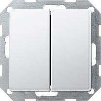 GIRA 2860 201 Lichtschalter Weiß (2860201)