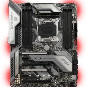 MSI MB X299 Tomahawk Intel X299 Mainboard - ATX - Intel X299 (7B05-001R)