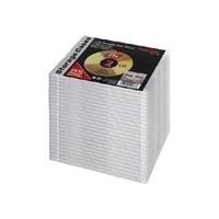 Hama - Slim Jewel Case für Speicher-CD - Kapazität: 2 CD - durchsichtig (Packung mit 25) (51168)