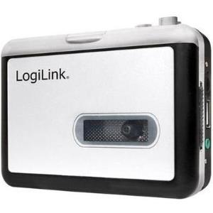 LogiLink UA0281 1Deck(s) Schwarz - Weiß Kassett...
