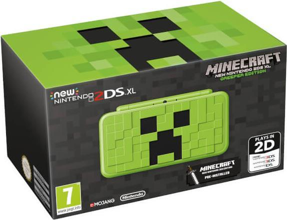 Nintendo New 2DS XL Minecraft Creeper Edition
