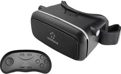 Renkforce RF-VR1 Schwarz Virtual Reality Brille...
