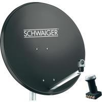 Schwaiger SAT-Anlage ohne Receiver Teilnehmer-A...