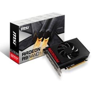 MSI R9 NANO 4G - Grafikkarten - Radeon R9 NANO - 4GB HBM - PCI Express 3.0 x16 HDMI, 3 x DisplayPort (V803-861R)