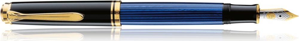 4012700988096 M Pelikan Füllhalter ´Souverän 600´ schwarz// blau