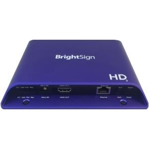 Multiroom, Media Streaming - BrightSign HD223 Blau Flash H.264 H.265 MPEG1 MPEG2 BMP JPG PNG AAC MP2 MP3 WAV 1920 x 1080 Pixel (HD223)  - Onlineshop JACOB Elektronik