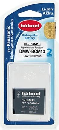 Hähnel HL-PCM13 - Batterie - 1000 mAh - für Panasonic Lumix DC-FT7, TS7, DMC-FT5, FT6, TS6, TZ56, TZ58, TZ70, TZ71, ZS35, ZS45, ZS50