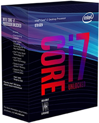 Intel Prozessor (CPU) Core i7-8700 3,2 GHz (Coffee Lake) Sockel 1151 - boxed (BX80684I78700)