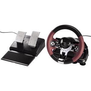 Hama Thunder V5 Racing Wheel - Lenkrad- und Ped...