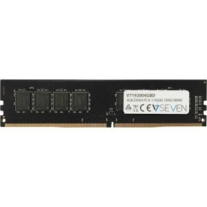 Arbeitsspeicher - V7 DDR4 4 GB DIMM 288 PIN 2400 MHz PC4 19200 CL17 1.2 V ungepuffert nicht ECC  - Onlineshop JACOB Elektronik
