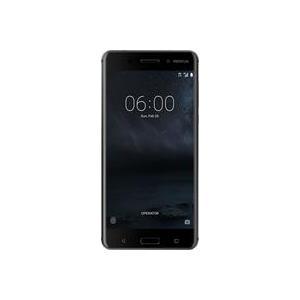 Smartphones, Handys - Nokia 6 Smartphone Dual SIM 4G LTE 32GB microSDXC slot GSM 5.5' 1,920 x 1,080 Pixel (403 ppi (Pixel pro' )) IPS 16 MP (8 MP Vorderkamera) Android mattschwarz (11PLEB01A14)  - Onlineshop JACOB Elektronik