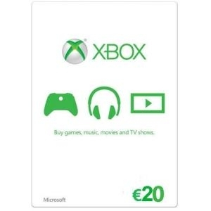 Microsoft Xbox Live - Gift Card - (EUR20) - ESD...
