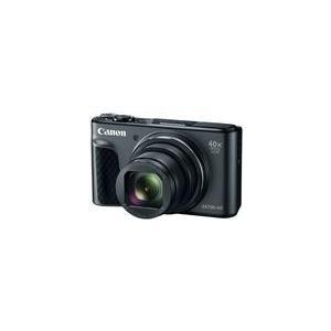 Canon PowerShot SX730 HS - Digitalkamera - Kompaktkamera - 20,3 MPix - 1080p / 60 BpS - 40x optischer Zoom - Wi-Fi, NFC, Bluetooth - Schwarz (1791C001)