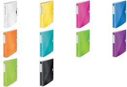 grün A4 4 D-Ring LEITZ Ringbuch Active WOW SoftClick