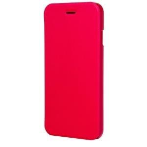 xqisit Folio Case Rana - Flip-Hülle für Mobiltelefon - rot-metallic - für Apple iPhone 6 (18084)