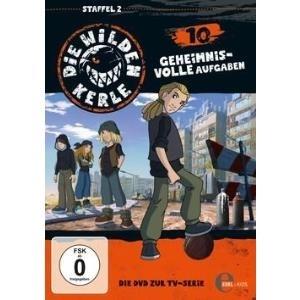 010 - Die wilden Kerle Geheimnisvolle Aufgaben [DVD] - broschei
