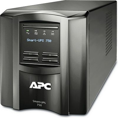 APC by Schneider Electric SMT750IC 750VA Uninterruptible Power Supply - Black (SMT750IC) (Bild #1)