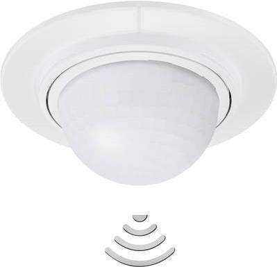 Sicherheit - Steinel Decke PIR Bewegungsmelder 032845 360 ° Weiß IP54 (032845)  - Onlineshop JACOB Elektronik