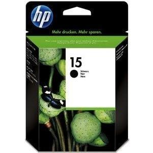 HP 15 - 25 ml - Schwarz - Original - Tintenpatrone - für Deskjet 38XX, Fax 1230, Officejet 51XX, v30, v40, v45, psc 500, 720, 750, 760, 920, 950 (C6615D)