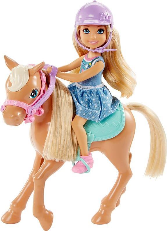 Barbie Club Chelsea Dolls & Horse - Mehrfarben ...
