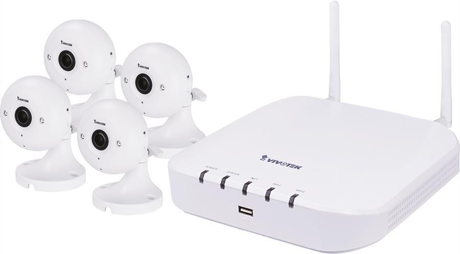WiFi NVR Bundle ND8212W+IP8160-W 1x ND8212W+ 4x...
