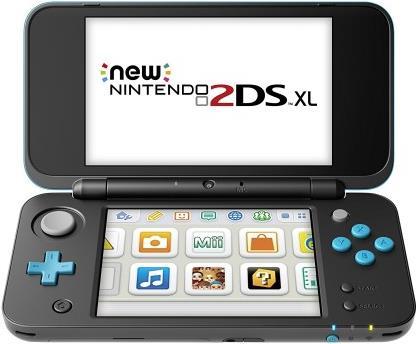 Nintendo New 2DS XL 4.88 Touchscreen WLAN Schwa...